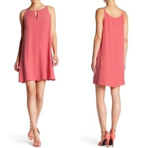 BB Dakota Rachel Trapeze Dress in Jade Sleeveless